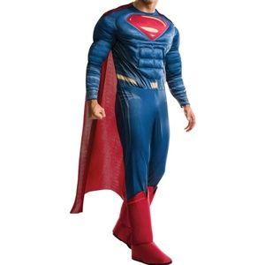 NEW Rubies Superman Adult Costume